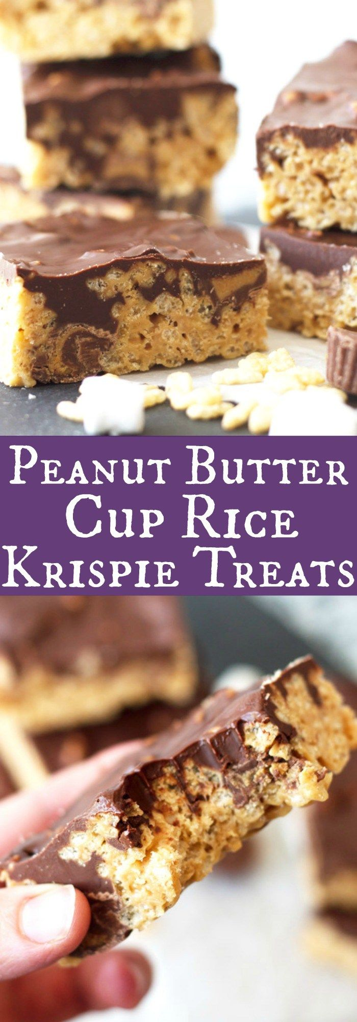 ... krispie treats chocolate peanut butter cup layered krispie treats