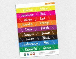 Colour labels for paint pots