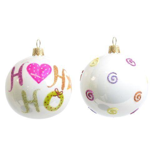 2Stk. Christbaumkugeln GLAS opal weiß handbemalt, mundgeblasen // Weihnachtskugeln Baumkugeln Baumschmuck Christbaumschmuck Kugel Siehe mehr unter http://www.woonio.de/p/2stk-christbaumkugeln-glas-opal-weiss-handbemalt-mundgeblasen-weihnachtskugeln-baumkugeln-baumschmuck-christbaumschmuck-kugel/