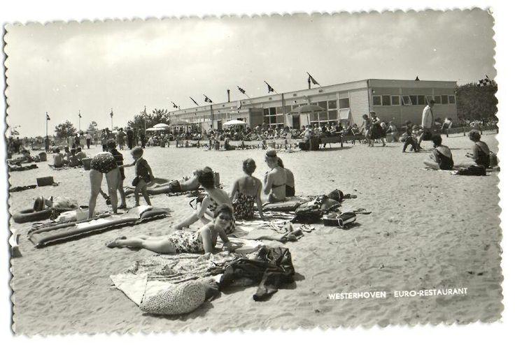 Valkenswaard - oude postkaart - ansichtkaart vroeger / het Eurostrand