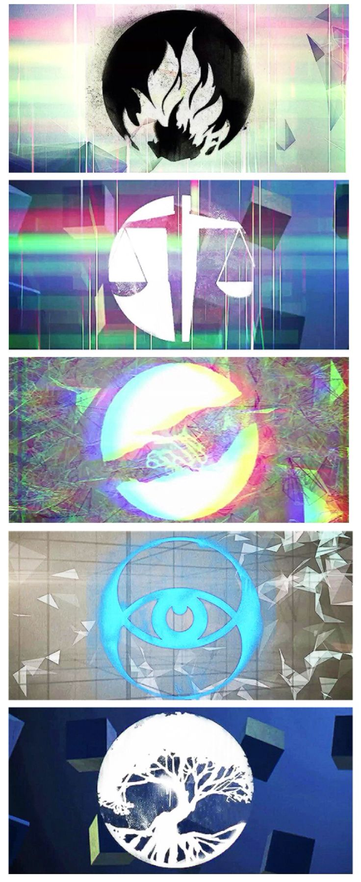 "Faction symbols from ""Find You"" lyric video ~Divergent~ ~Insurgent~ ~Allegiant~"