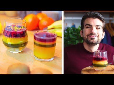 Salade de fruits du futur ? Agar-agar - YouTube