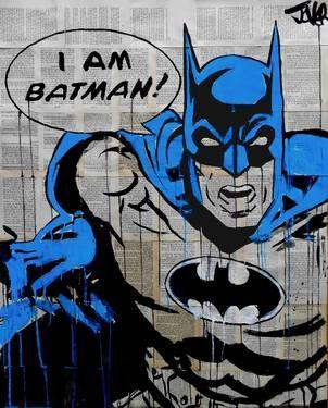 "Saatchi Art Artist Loui Jover; Drawing, ""I AM BATMAN! (pop icon series)"" #art"