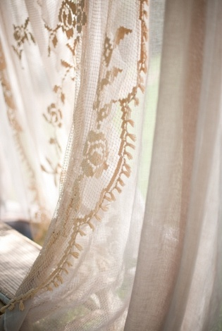 Wedding dress styles lace curtains