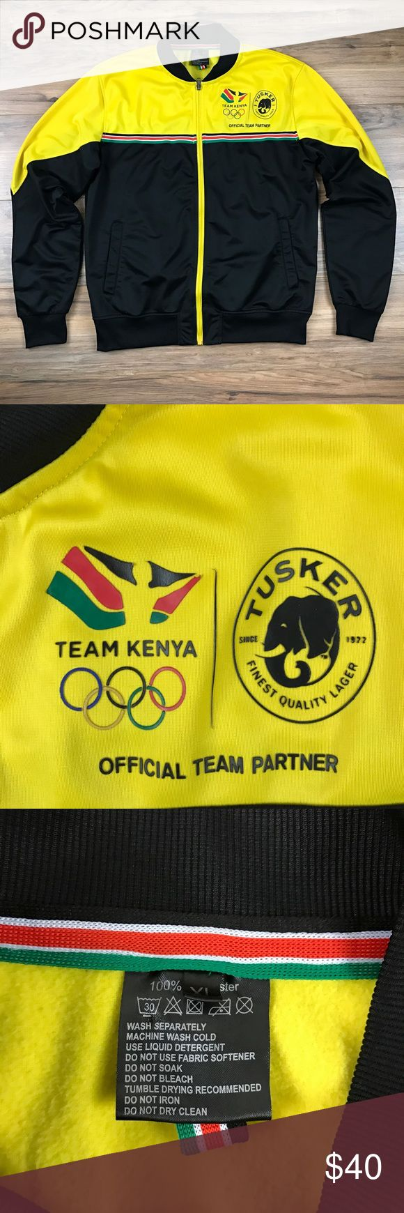 Team Kenya Olympic Track Jacket NWOT Official Team Partner. Team Kenya Olympic Track Jacket. 100% polyester. Excellent condition. Jackets & Coats Performance Jackets