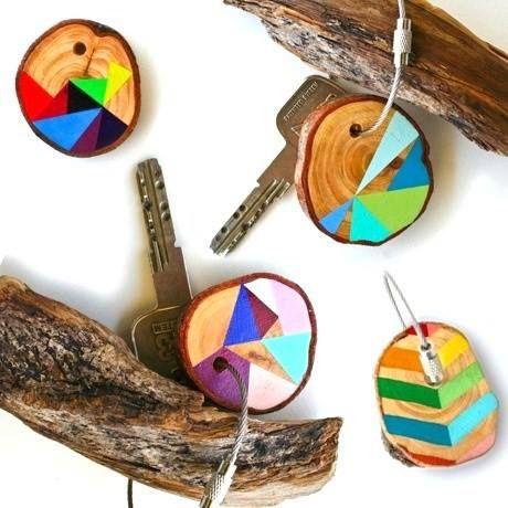 ✄ DIY Porte-clefs Colorés / DIY Colored Keychains ✄  www.creamalice.com