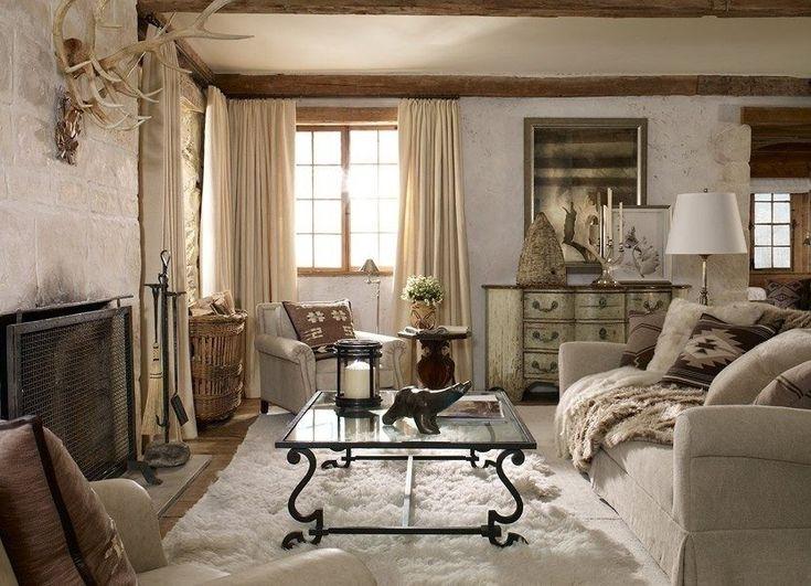 мебель для гостиной кантри (18)