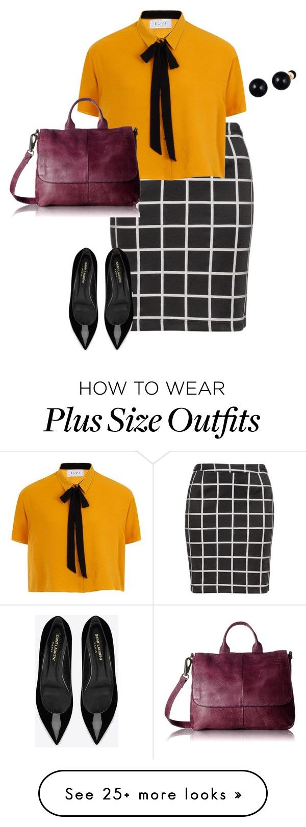 """plus size work, work, work!!!"" by kristie-payne on Polyvore featuring Zizzi…"