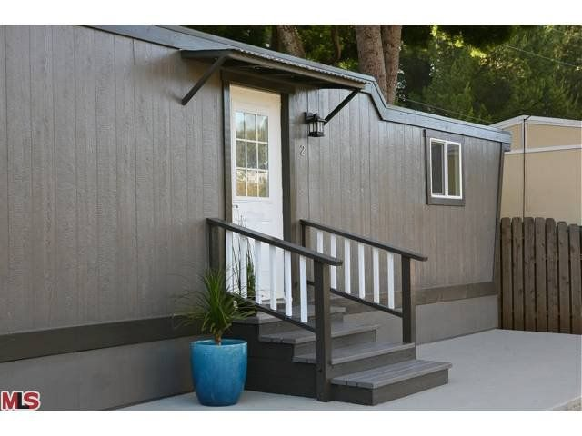 Paint For Mobile Homes Exterior exterior home painting house painting before Remodeled Single Wide Manufactured Home Exterior