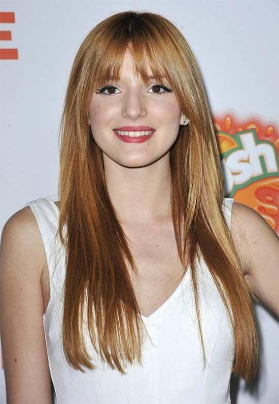 Bella Thorne Long hair for thin Hair #bobsforthinhair