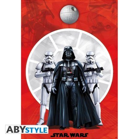 STAR WARS Poster Dark Vador & 2 Troopers (98x68)