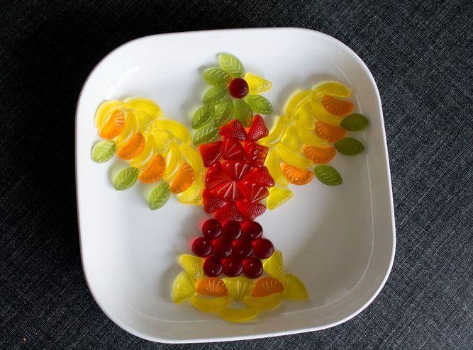 Fun Food kids present gift geschenk vogel bird tiere animals süßigkeiten sweets lachgummi wine gum Sinja78