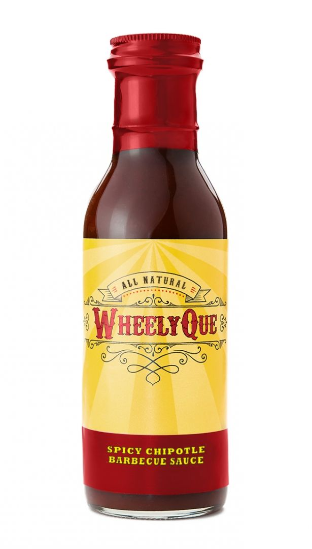 Spicy Chipotle Barbecue BBQ Sauce - All Natural by WheelyQue Barbecue Sauces on Gourmly