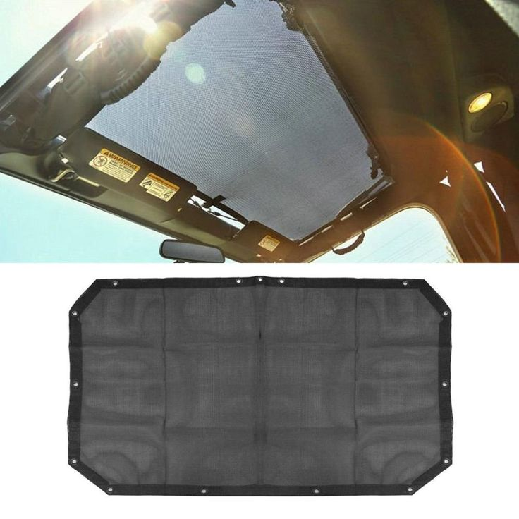 Jeep Wrangler Mesh Top Cover Sunshade