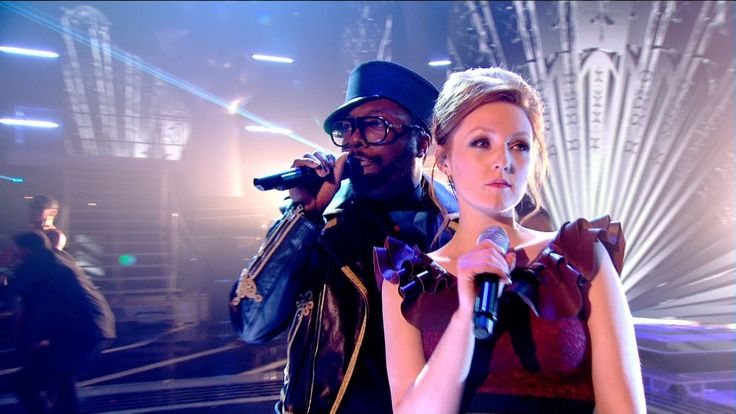 will.i.am and Lucy O'Byrne perform Habanera - The Voice UK 2015: The Liv...