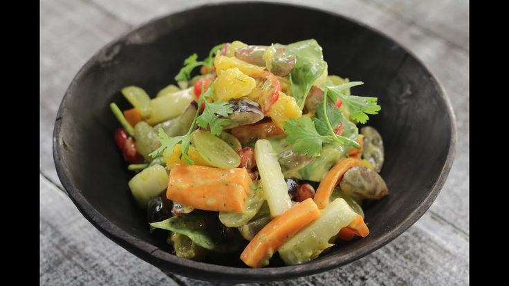 Fruit And Veggie Salad | Sanjeev Kapoor Khazana