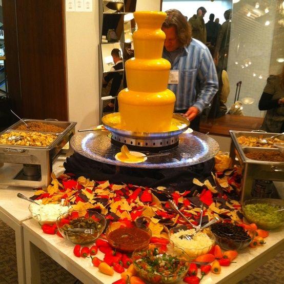 cheese fountain photos | nacho cheese fountain??? Make your own nachos! by Janny Dangerous
