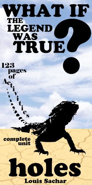 A solid teaching unit for Louis Sachar's young adult novel Holes. 123 pages of activities that are sure to engage middle school or high school English students. Plot, Conflict, Setting, Characters, Writing Journals, Pop Quizzes, Vocabulary, Figurative Language, Symbols, Essay, Movie Comparison