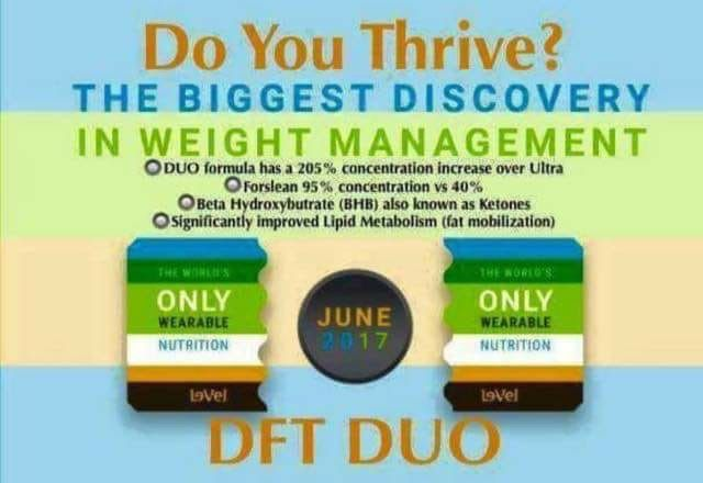 Need to trim down?  Tired of fad dieting, loosing some, then gaining more back?  Well, what if I told you... today is your lucky day!  Throw the scales away!  You can set up a FREE all access account through my weblink.  Today! Check promoter & you can order the very first of its kind weight management DFT DUO.   Get ready its open to order by all promoters at 10 am. This is breaking news!   Time2Try.Le-Vel.com