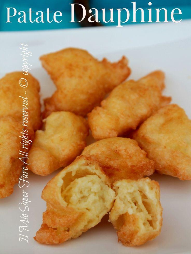 Patate dauphine | ricetta con patate blog il mio saper fare