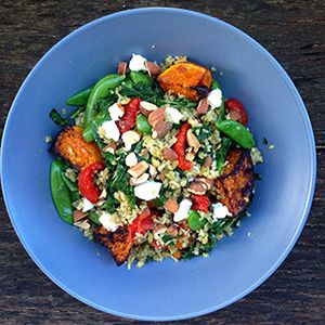 Ancient Grain Freekeh Salad Recipe: http://goodnesssuperfoods.com.au/2016/03/ancient-grain-freekeh-salad-recipe/