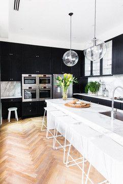 The Block - Glasshouse Darren & Dee Kitchen transitional-kitchen