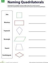 Resultado de imagen para formatos de preparacion triangles and quadrilaterals