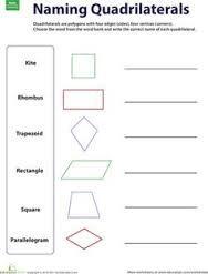 Resultado de imagen para formatos de preparacion triangles and quadrilaterals