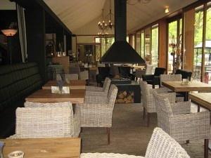 Restaurant en buitenplaats Florilympha in de bossen van het Lutterzand