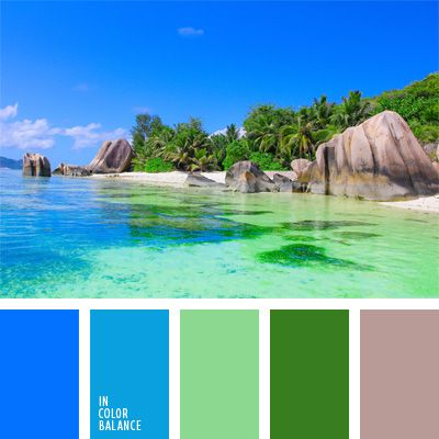 color agua oceánica, color aguamarina, color azul aguamarina, colores para una velada al estilo hawaiano, combinaciones de colores, elección del color, matices marinos, paleta de colores tropicales, selección de colores para el diseño, tonos verdes y celestes.