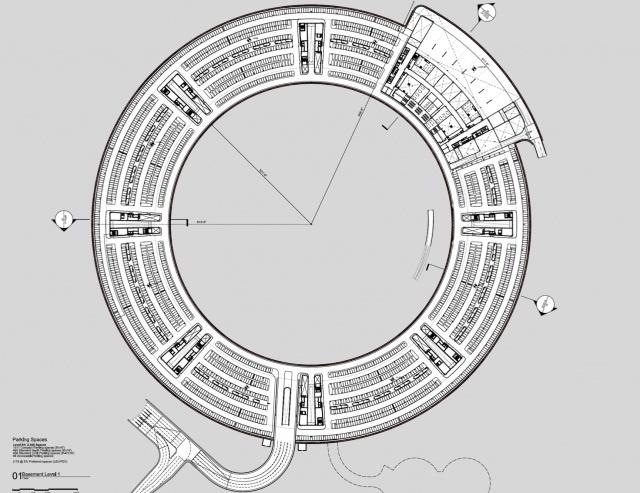 Apple Headquarters Office 8 Plan
