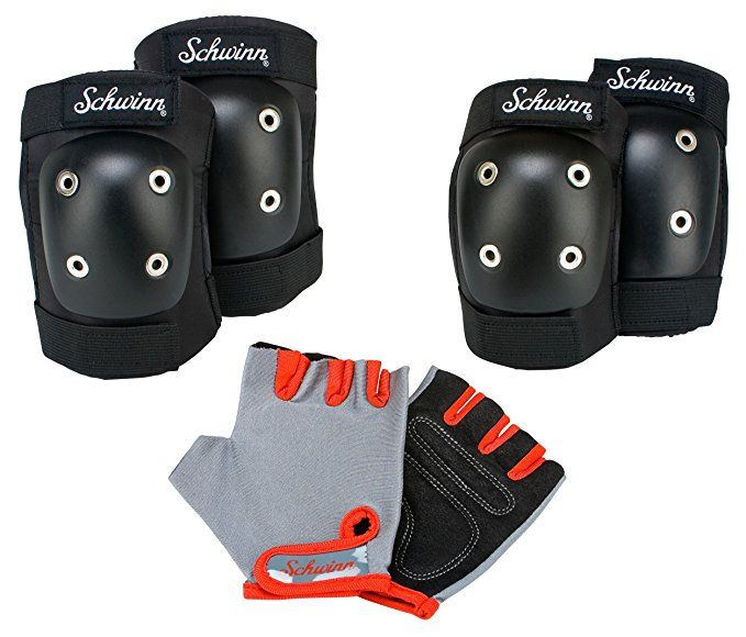 Strider Kids Elbow /& Knee Pads w//adjustable straps fits age 18 mos 5 yrs New