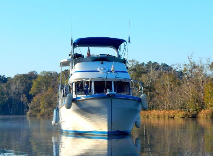 38 Marine Trader trawler for sale
