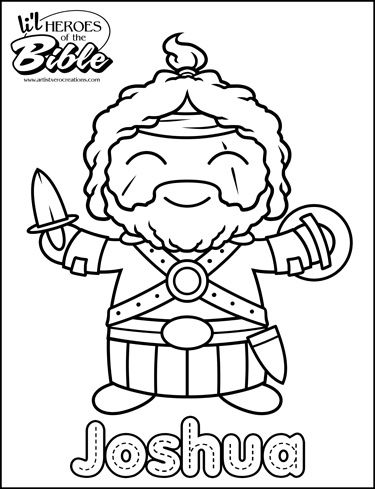 joshua coloring pages - 61 best joshua and the battle of jericho images on