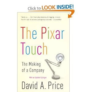 I love Pixar and their story-telling. One to read.
