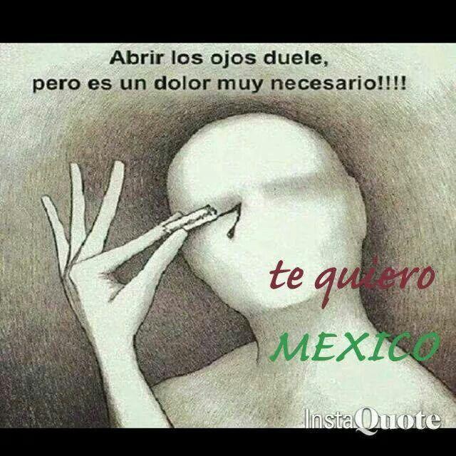 Abrir los ojos duele pero es un dolor muy necesario!!!!