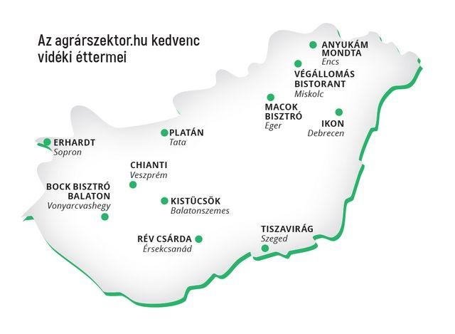 Gasztroturisták járják az országot, Soprontól Egerig, Pécstõl Debrecenig.