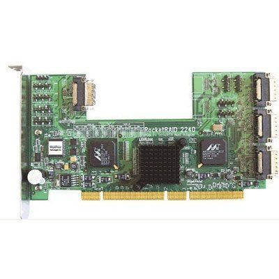 HighPoint RocketRAID 2240 16-Channel SATA II RAID Controller * PCI-X - Up to 300MBps by Highpoint. $320.61