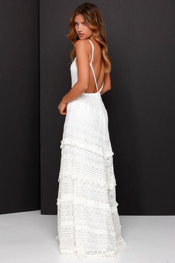 Beneath the Garden Arbor Ivory Lace Maxi Dress | Love it | Spring | Summer | Pretty