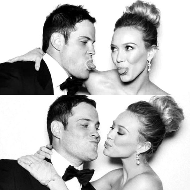 Hillary Duff and her husband  Mike Comrie