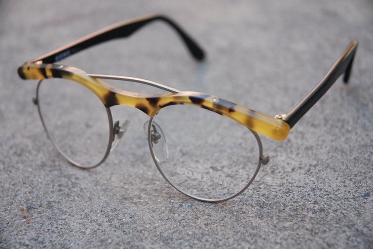 Gome Paris Eyeglasses. $115.00, via Etsy.