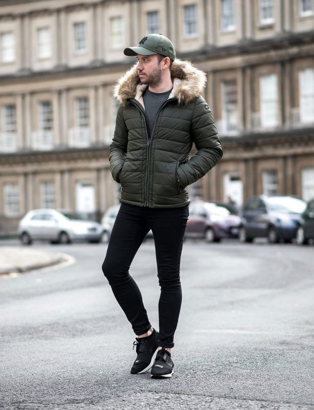 7641690721b7 Men Fashion · Winter Fashion · How To Pick The Best Puffer Jacket Under   100. Hooded fur olive green puffer jacket