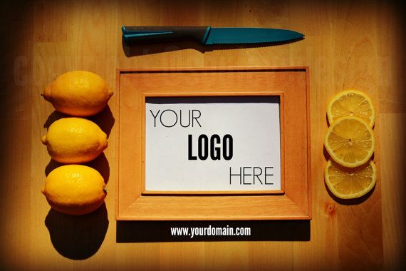 Lemon Food Photography Styled Stock Photo by SoulEye #photography #food #bloggers #stockphotos #etsy
