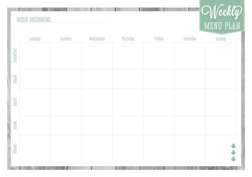 HOME ORGANIZER: MEAL PLANNERSYOU MAY ALSO LIKE