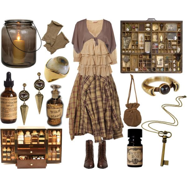 Keeper of Curiosities by maggiehemlock on Polyvore featuring mode, Miss Selfridge, Annarita N., AllSaints, Pamela Love, Rock 'N Rose and Aucocisco Naturals
