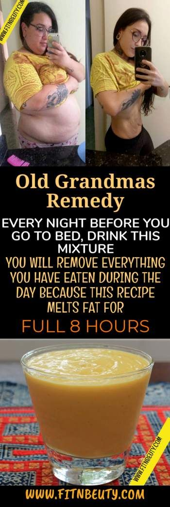 EVERY NIGHT BEFORE YOU GO TO BED, DRINK THIS MIXTURE: YOU WILL REMOVE EVERYTHING YOU HAVE EATEN DURING THE DAY BECAUSE THIS RECIPE MELTS FAT FOR FULL 8 HOURS – Melissa Elsasser