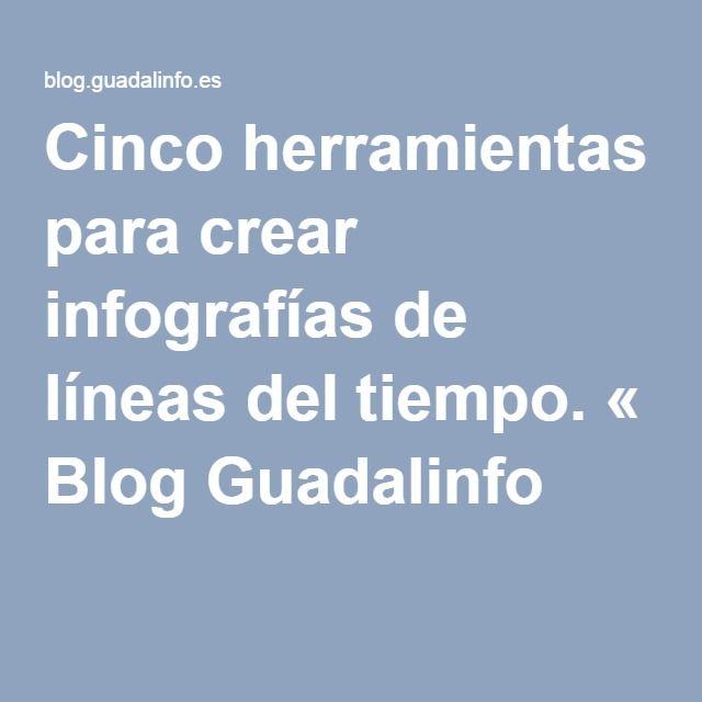 Cinco herramientas para crear infografías de líneas del tiempo. « Blog Guadalinfo