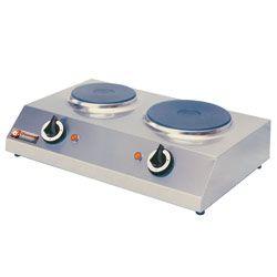 Elektrisch fornuis 2 platen