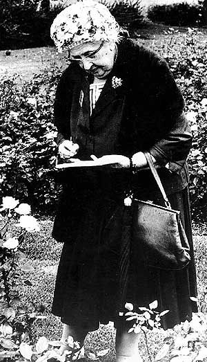 Agatha Christie - English crime novelist, short story writer and playwright.