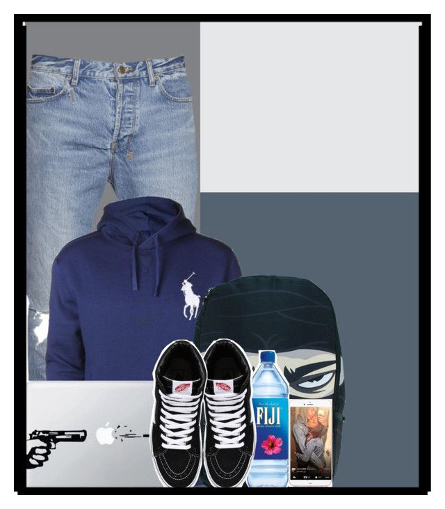 """Arron's polo outfit"" by mayaburke ❤ liked on Polyvore featuring Polo Ralph Lauren and Vans"